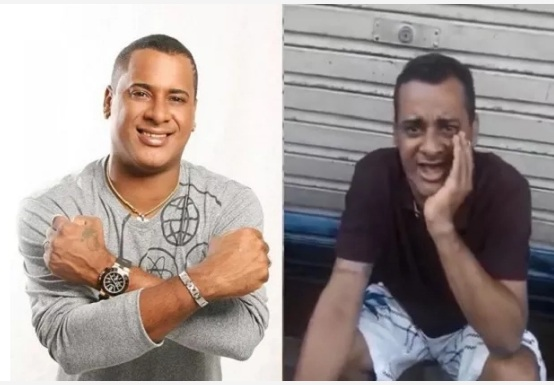 Ex-vocalista do Timbalada, Xexéu é filmado pedindo ajuda nas ruas de Salvador; vídeo