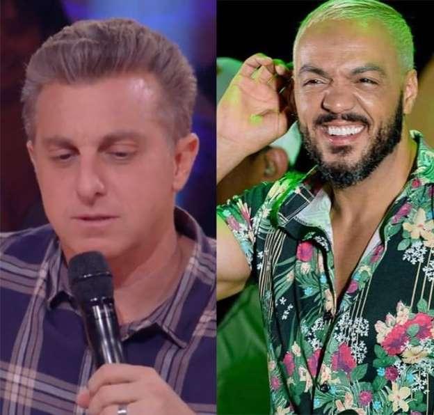 Climão! Luciano Huck liga para Belo durante Caldeirão do Huck, mas cantor finge que não é ele, entenda!