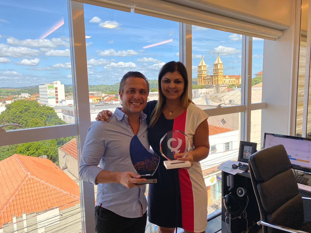 Empresário Jacarezinhense recebe prêmio em Campanha Nacional