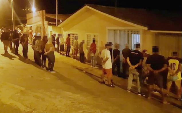 Paraná: Após denúncia, PM acaba com festa com mais de 120 pessoas no Paraná