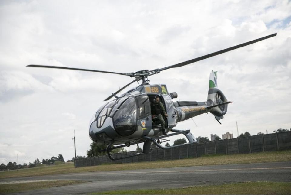 IBAITI – Operação policial mobiliza helicóptero e mais de 40 policiais no combate ao tráfico