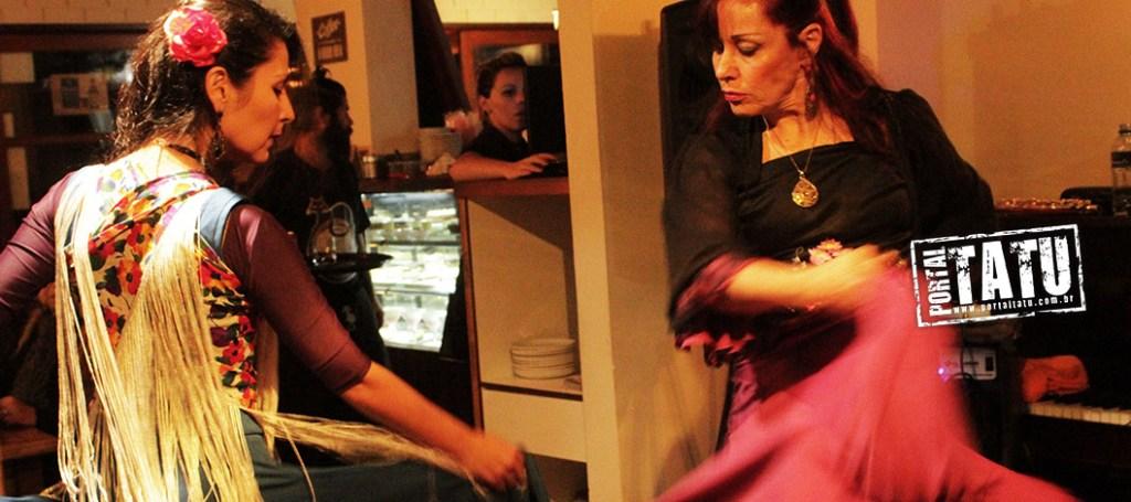 Daniel Ferreira e Victoria Nuñez – Música e Dança Flamenca no Gatto Macchiato 22/07/2017