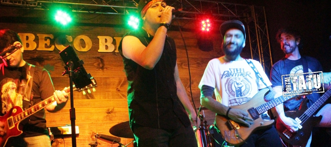 Rock in Beco – Tributo ao Guns n' Roses – Beco Beer 22/09/2017