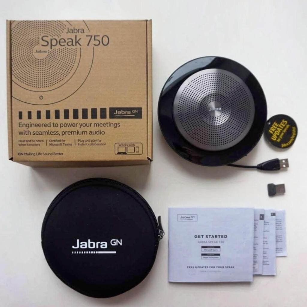 Jabra Speak 750 — беспроводной спикерфон нового поколения