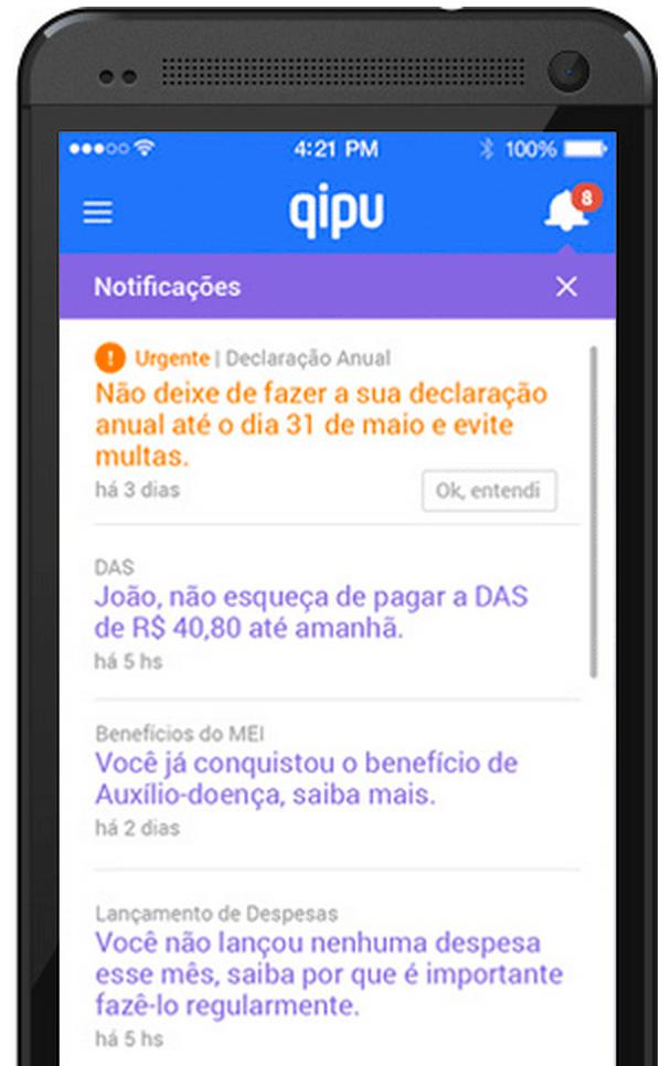 QIPU, o aplicativo gratuito do MEI