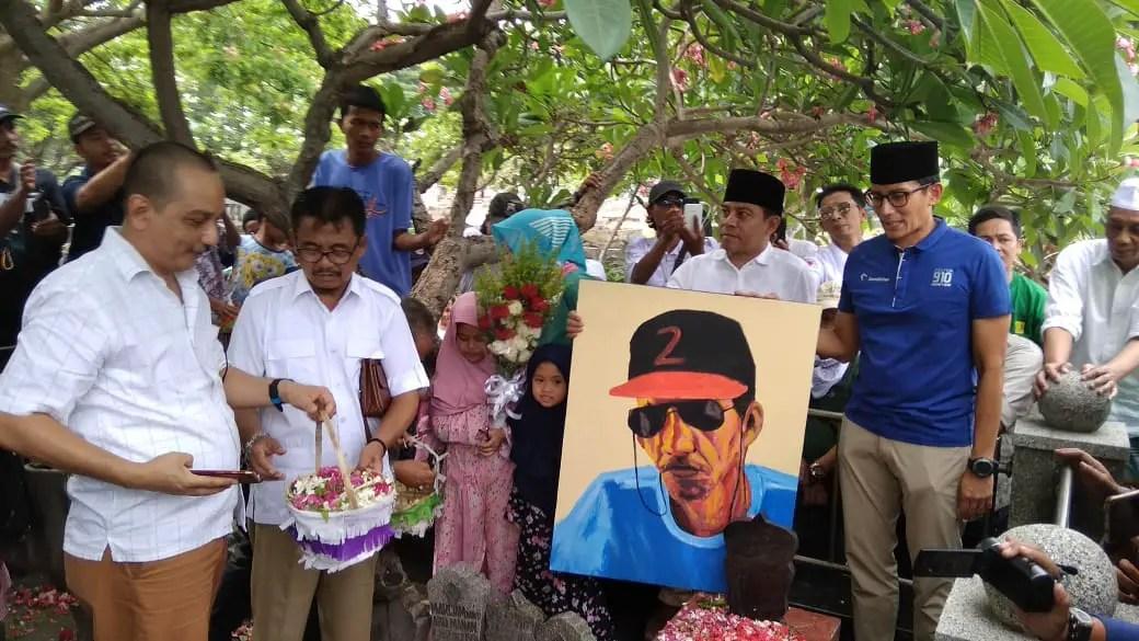 Sandiaga Uno Sebut Gombloh Adalah Pejuang Ekonomi Kreatif Indonesia