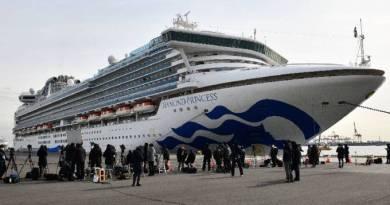 Argentino em cruzeiro no Japão é o primeiro sul americano com coronavírus