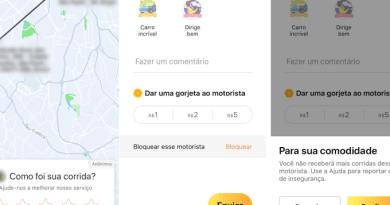 99 vai permitir que usuários e motoristas possam se bloquear