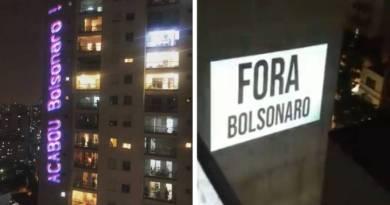 Duelo de panelaços: ruidosos protestos contra e a favor de Bolsonaro