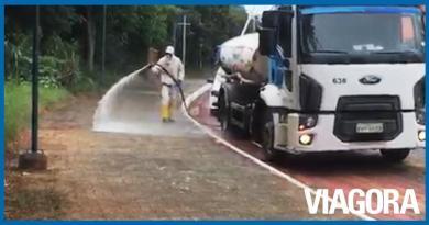 Em vídeo, teresinense pede que MP investigue sanitização de ruas