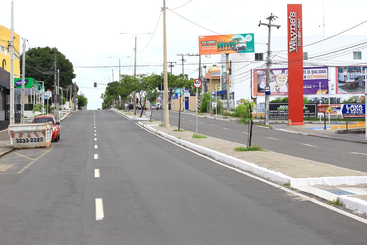 Avenida Nossa Senhora de Fátima, zona Leste de Teresina