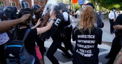EUA temem segunda onda de Covid 19 por conta de protestos