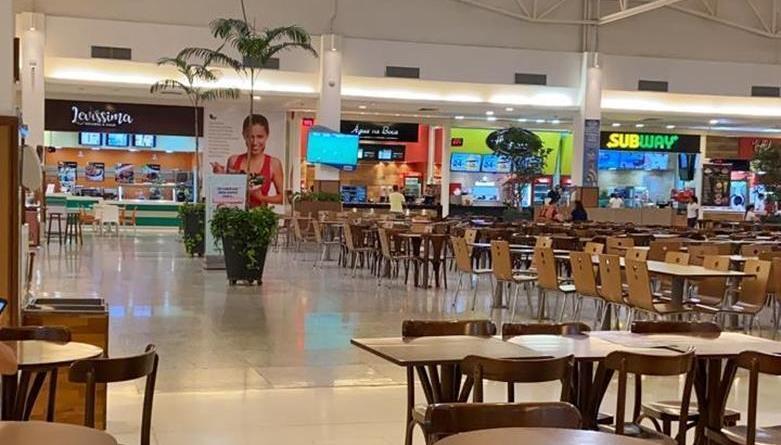 Praças de alimentação dos shoppings voltarão a funcionar, decide Governo do Maranhão
