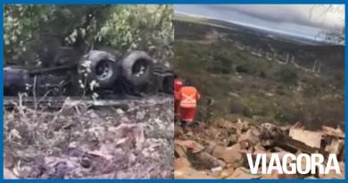 Acidente envolvendo caminhão deixa um morto em Queimada Nova