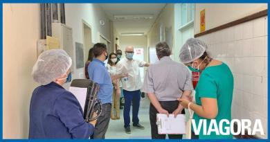 Ministério Público realiza inspeção no Hospital Natan Portela