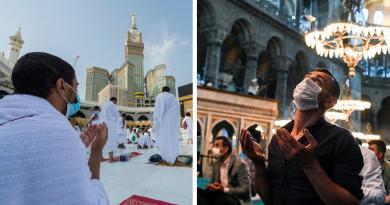 Mundo islâmico unido em orações de Meca a Istambul