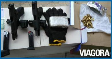 Polícia prende suspeitos de tráfico de drogas em Campo Maior