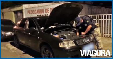 PRF PI apreende carro de luxo adquirido com documentação clonada
