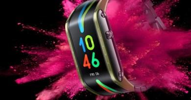 Smartwatch com tela em formato inédito é anunciado na China