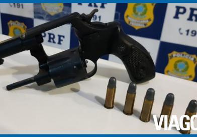 Homem é preso com revólver e munições na BR 316 em Teresina