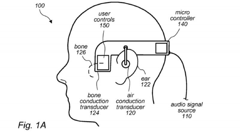 Patente da Apple indica possível fone com tecnologia de condução óssea
