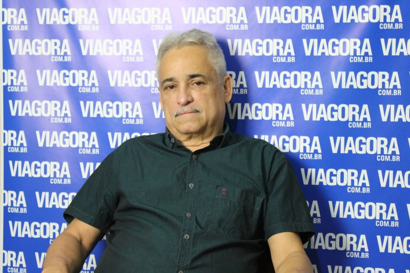 Ex deputado Robert Rios em entrevista ao Viagora.