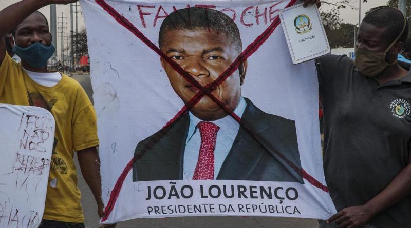 Protestos contra desemprego marcam aniversário da presidência de Angola