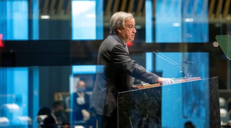 Secretário geral da ONU pede acordo global contra desigualdades