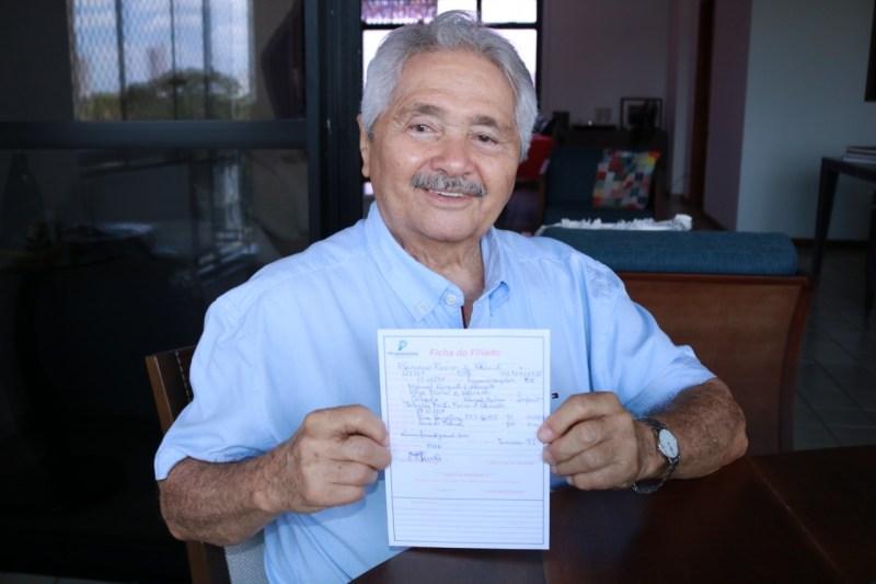 Senador Elmano Férrer oficializa filiação ao Progressistas nesta terça