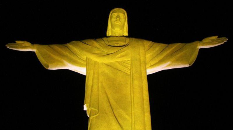 Símbolos do Rio de Janeiro se iluminam de amarelo em alerta ao suicídio   ViDA & Ação