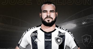 Botafogo anuncia chegada do volante José Welison