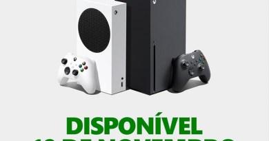 Xbox Series X e Series S ganham data de lançamento no Brasil
