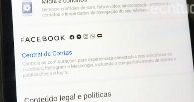 Central de Contas: como sincronizar o Facebook, Instagram e Messenger