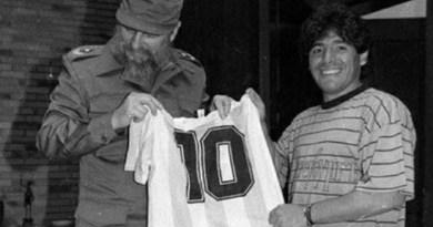 No esporte, na política, na música, o mundo lamenta a morte de Diego Maradona