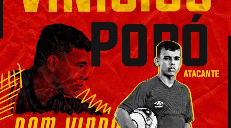 Sport anuncia contratação do atacante Vinícius Popó, do Cruzeiro, por empréstimo
