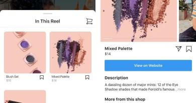 Instagram Shopping agora permite comprar produtos que aparecem no Reels