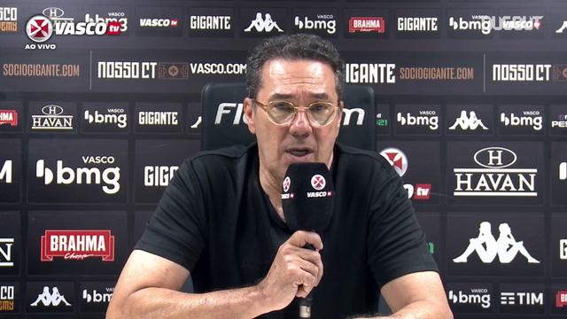 """Luxemburgo: """"Tudo é trabalho para manter o Vasco na primeira divisão"""""""