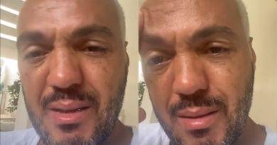 Após deixar a prisão, Belo aparece chorando: 'Grito em silêncio' – Jovem Pan