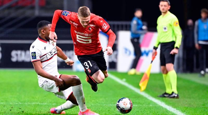 Nice vence Rennes fora de casa e afasta perigo de rebaixamento na Ligue 1