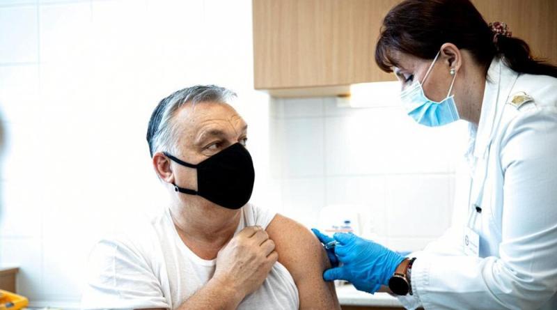 Orbán vacinado com Sinopharm