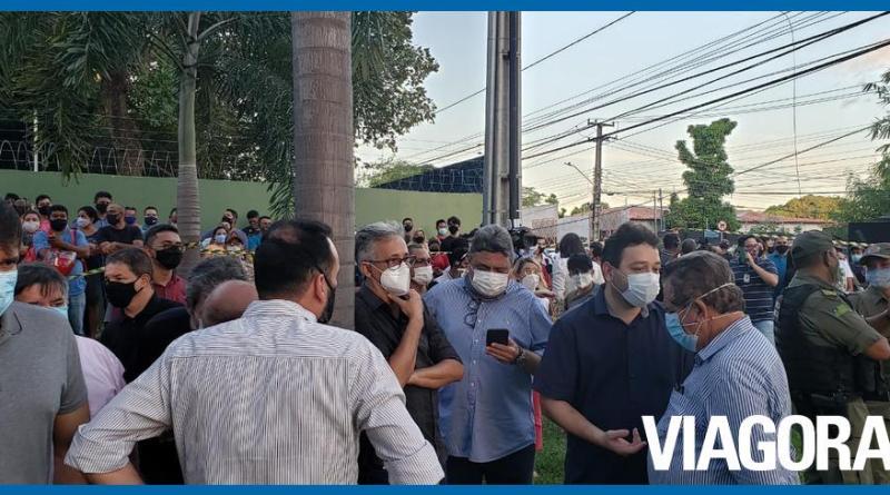 Políticos vão ao local onde corpo de Firmino Filho foi encontrado