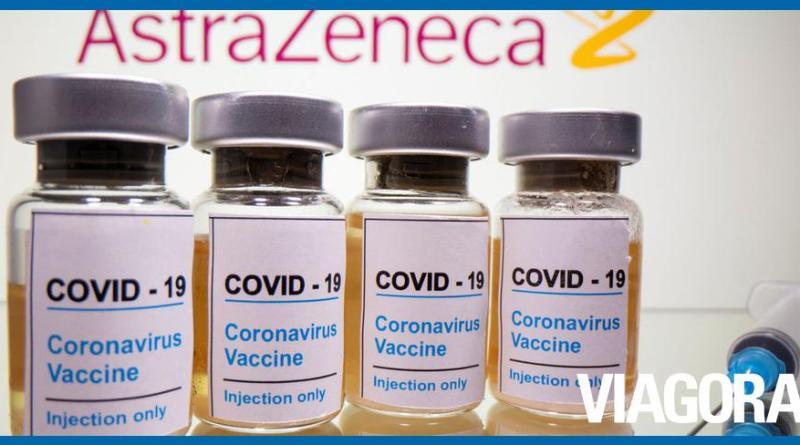 Brasil recebe hoje mais de 3 milhões de doses da vacina de Oxford