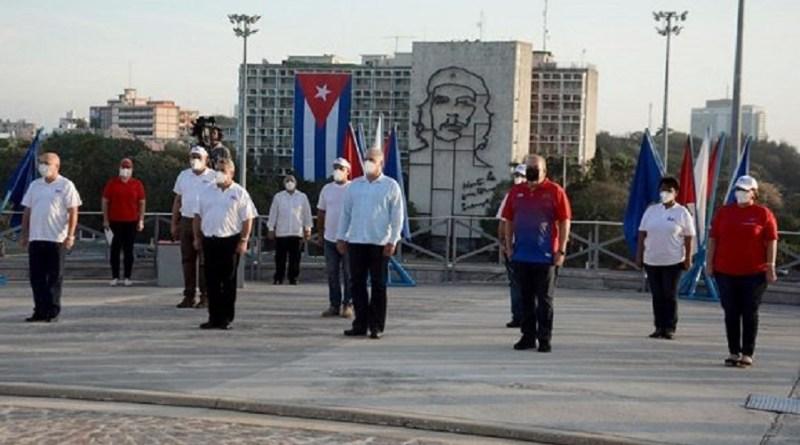 Condenação ao bloqueio pelos EUA e homenagem a Martí no 1º de Maio em Cuba
