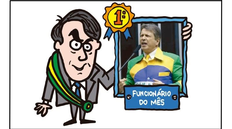 Diário, já elegi o meu funcionário do mês! É o Bibo!   Rede Brasil Atual