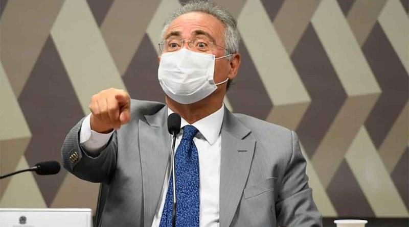Senador Renan Calheiros participa do 'Entre Vistas', na TVT, nesta quinta