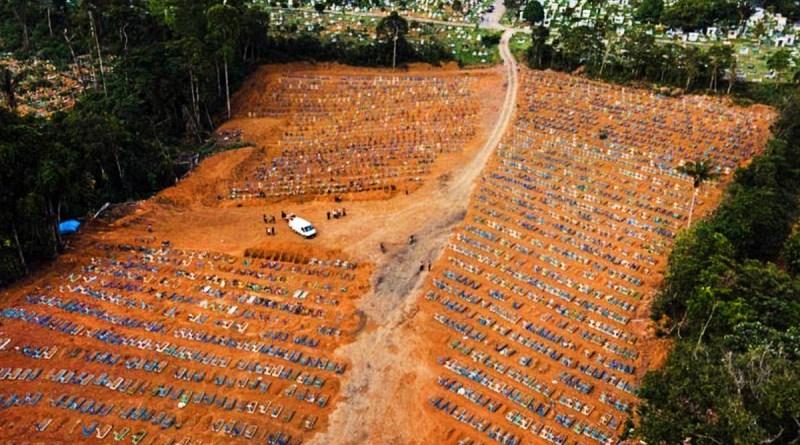 Média de mortes pela covid cresce e Brasil ultrapassa 487 mil óbitos