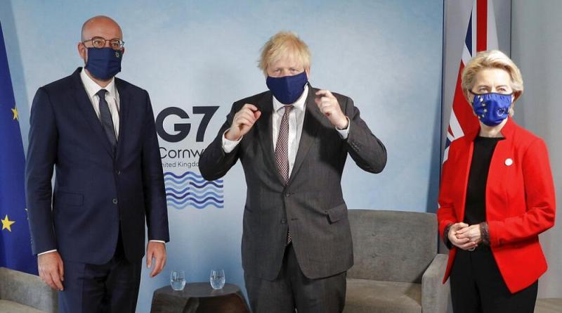 Primeiros entendimentos em Carbis Bay no segundo dia de reuniões do G7