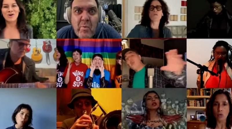 Artistas pelo impeachment de Bolsonaro lançam música e manifesto