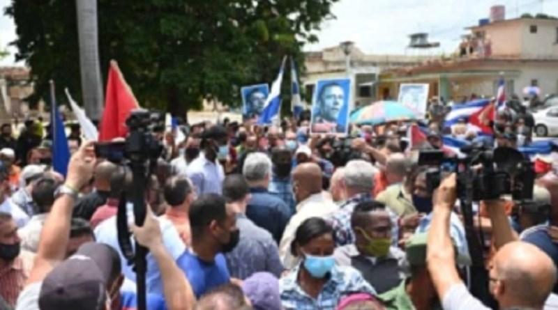 """""""Cuba nunca será uma terra de ódio"""", afirma presidente Díaz Canel   Hora do Povo"""