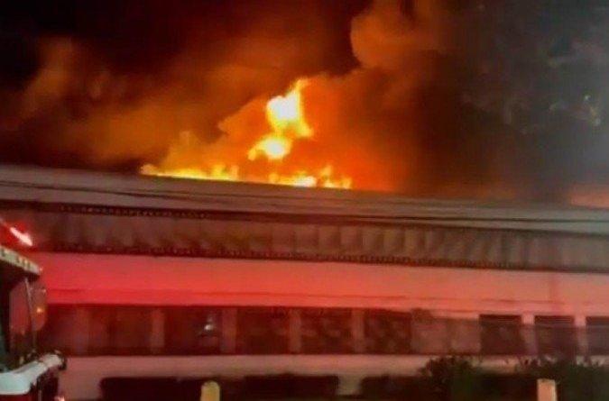Incêndio atinge galpão da Cinemateca Brasileira, em São Paulo